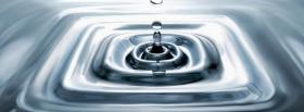 free square ripples nature facebook cover