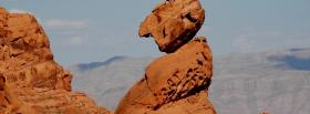 free red rock nature facebook cover