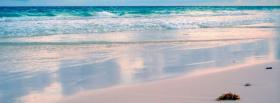 free peaceful beach nature facebook cover