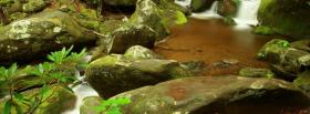 free rocks and water nature facebook cover