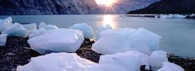 free sun and ice nature facebook cover