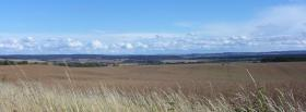 free wheat field nature facebook cover