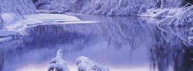 free winter season nature facebook cover