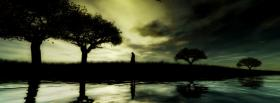 free walk dark sky nature facebook cover