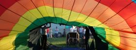 free people parachute nature facebook cover