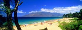 free people on beach nature facebook cover