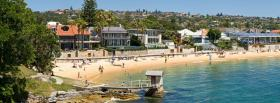 free watson bay sydney nature facebook cover