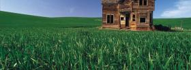 free old house nature facebook cover