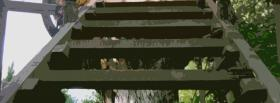 free stairs in nature facebook cover