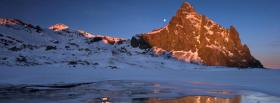 free winter season landscape nature facebook cover