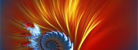 free peacock feather nature facebook cover
