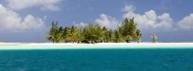 free nice little island nature facebook cover