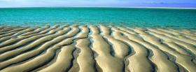 free sand ripples nature facebook cover