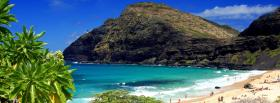 free oahu beach nature facebook cover