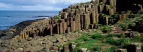 free giants causeway ireland nature facebook cover