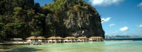 free el nido beach nature facebook cover