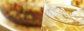 free bacardi in a glass facebook cover