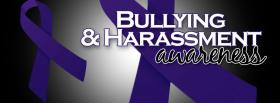 bullying and harassment awareness facebook cover