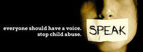 free stop child abuse facebook cover