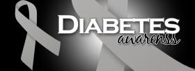 free diabetes awareness facebook cover