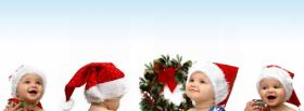 free christmas babies facebook cover