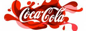 free red coca cola facebook cover