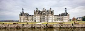 free amazing chambord castle facebook cover