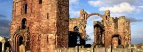 free lindisfarne priory old castle facebook cover