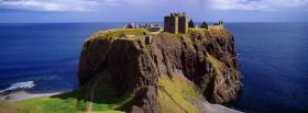 free sea and dunnottar castle facebook cover