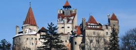 free bran castle romania facebook cover