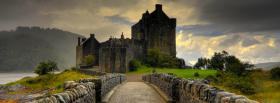 free castle in scotland facebook cover