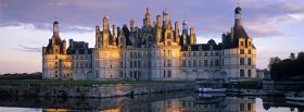 chantilly france castle facebook cover