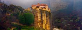 free monastry greece castle facebook cover