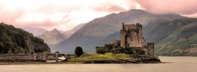 free scottish eilean donan castle facebook cover