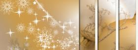 free sparkles and christmas facebook cover