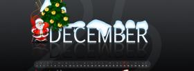 free santa claus and december facebook cover