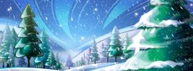 big white snowman facebook cover