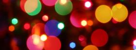 free holiday christmas lights facebook cover