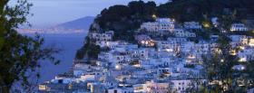 capri italy city facebook cover