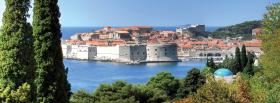 free dubrovnik city facebook cover