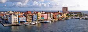 free curacao city facebook cover