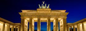 brandenburg gate city facebook cover