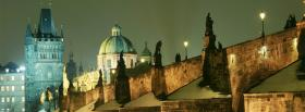 free charles bridge prague facebook cover