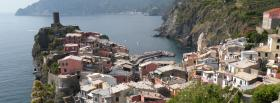 cinque terre city facebook cover