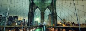 brooklyn bridge city facebook cover