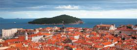 free dubrovnik old city facebook cover