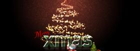 free merry xmas facebook cover