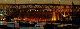 bridge in the city facebook cover