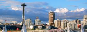 day in seattle city facebook cover