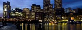 cityscape night facebook cover
